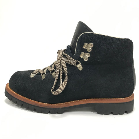 [10] A Bathing Ape Bape Suede Hiking Boots Navy