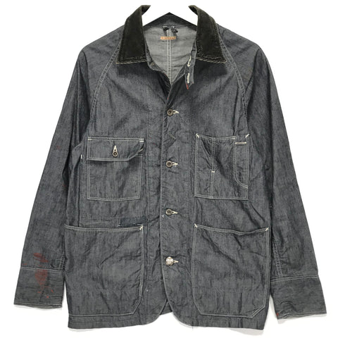 [S] Kapital Chambray Work Smock Jacket Indigo
