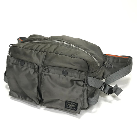 Porter Tanker Waist / Shoulder Bag Grey