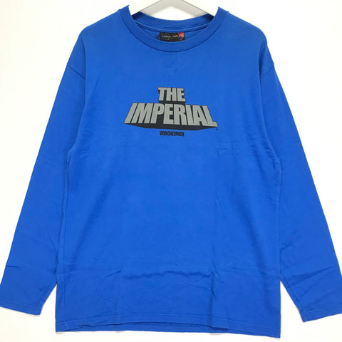 [M] Undercover x WTAPS 00AW The Imperial L/S Tee Shirt Blue