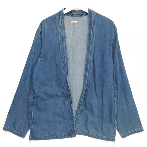 [L] Kapital Denim Kimono Shirt / Coverall Jacket Indigo