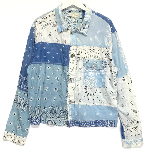 [2XL] Kapital Kountry Vintage Bandana Jacket Shirt