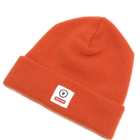 Visvim x Supreme Cashmere Beanie Orange