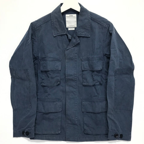 [S] Visvim 12AW Kilgore Jacket Damaged Navy