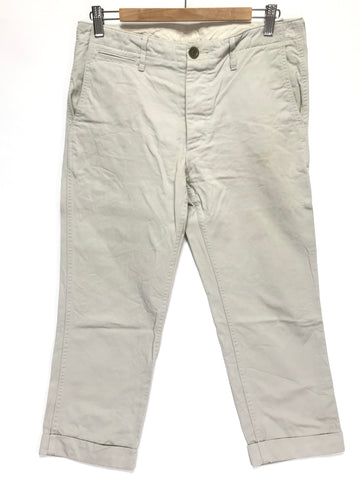 [M] Visvim 12SS High Water Chino Pants Giza Beige