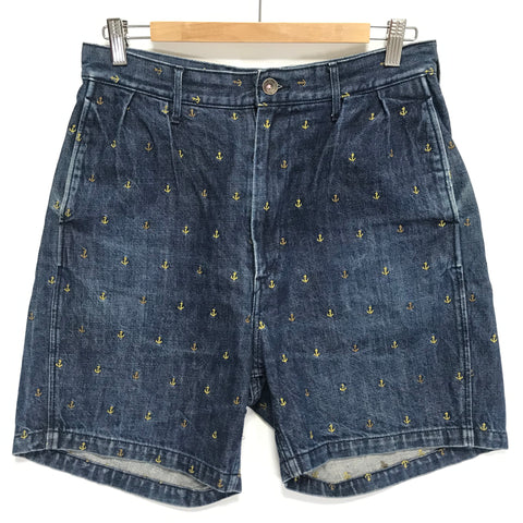 [S] Kapital Denim Anchor Shorts Indigo