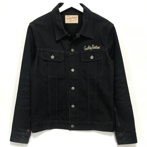 [M] Wacko Maria Guilty Parties Denim Jacket Black