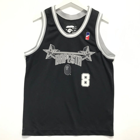 [M] A Bathing Ape Bape Sta Basketball Jersey
