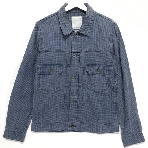 [M] Visvim 14SS FIL Exclusive 101 Jacket INDIGO CHECK