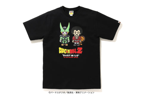 [M~L] DS! Bape Dragon Ball Z Baby Milo Mr. Satan and Cell Tee Black