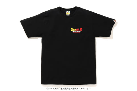 [M] DS! Bape Dragon Ball Z Baby Milo ASNKA Tee Black