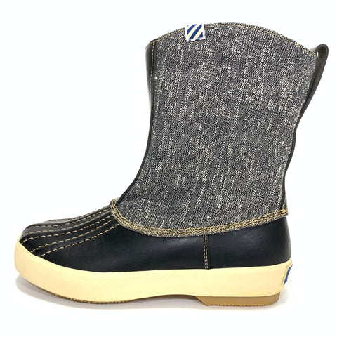 [9] DS! Visvim Decoy Duck Raffia Boots Folk Black