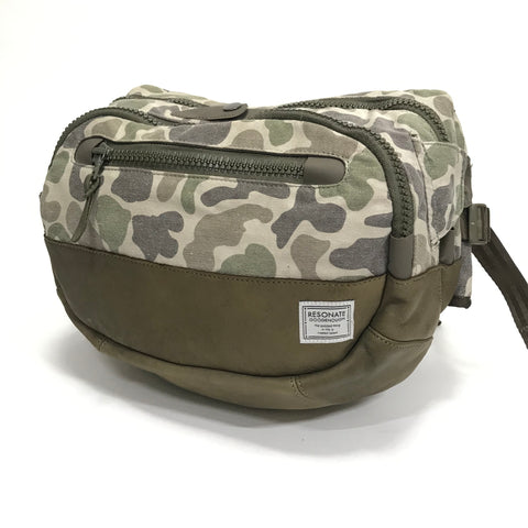 Visvim x Goodenough Resonate Camo Lumbar Ballistic 8L Waist / Shoulder Bag