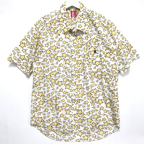 [L] A Bathing Ape Bape Vintage All Over Sta S/S Shirt