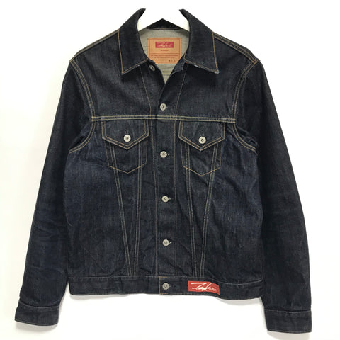[L] Futura Laboratories One Wash Indigo Denim Jacket