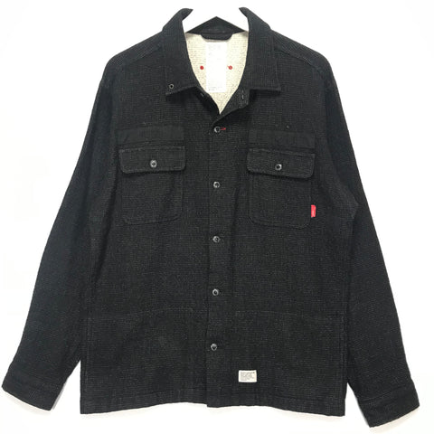 [L] WTaps 08AW Red Dawn Revolt Establishment BUDS L/S Shirt