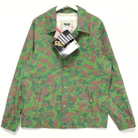 [L] VISVIM G Line Gore Tex Duck Camo Coaches Jacket