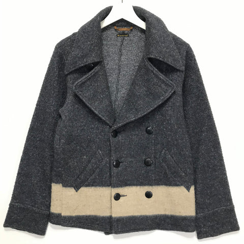 [M] Kapital Fleece Pea Coat