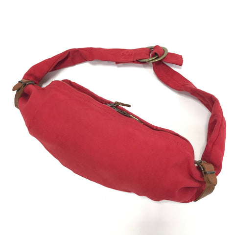 Kapital Duck Cotton Canvas Snufkin Waist Bag