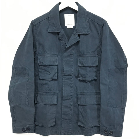 [M] Visvim 13SS Kilgore Jacket Damaged Navy