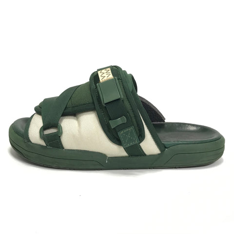[L] Visvim Christo Sandals Two Tone Green
