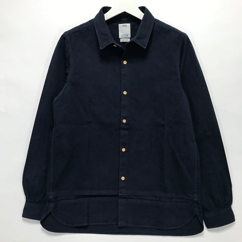 [S] Visvim 16AW Long Rider Shirt L/S Over Dye Indigo