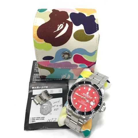 A Bathing Ape Bape NFS Limited Type 1 Bapex Watch
