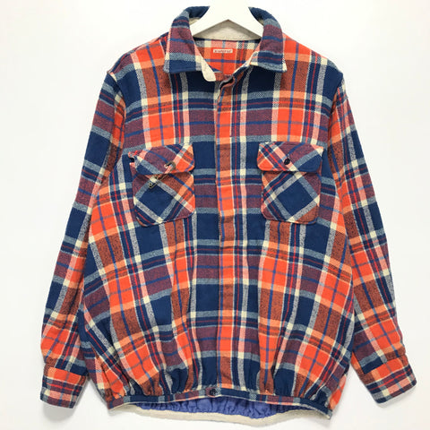 [M] Kapital Flannel L/S Shirt Blue/Orange