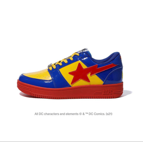 DS! BAPE x DC COMICS SUPERMAN BAPE STA LOW