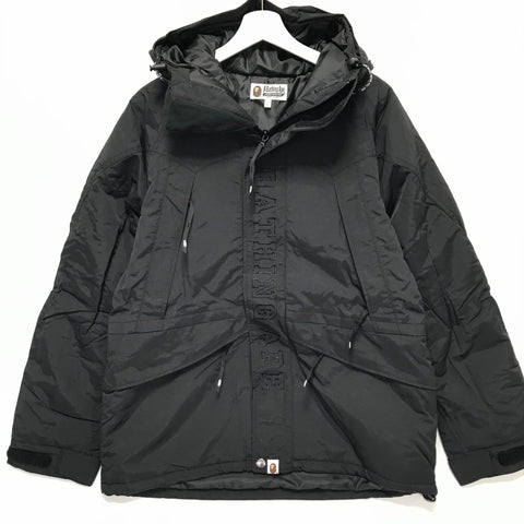 [S~L] DS! Bape Nylon Snowboard Jacket Black