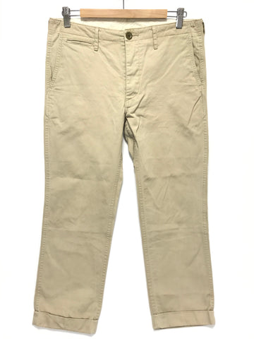 [M] Visvim High Water Chino Pants Giza Beige
