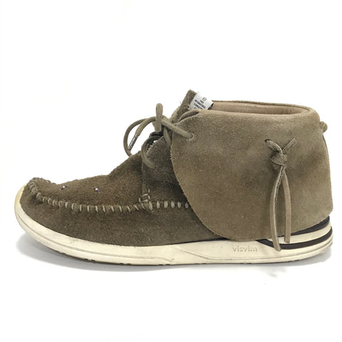 [9] Visvim FBT Lhamo Folk Suede Brown