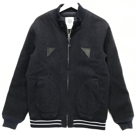 [L] Visvim Harris Tweed Gore Windstopper Wool Mechanics Jacket