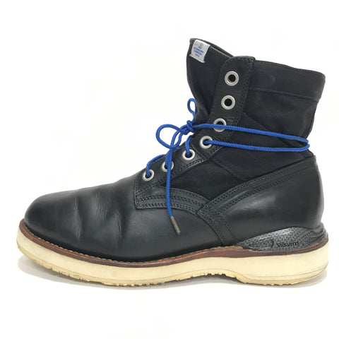 [9.5] Visvim 7 Hole 73 Boots Folk Carbon Black