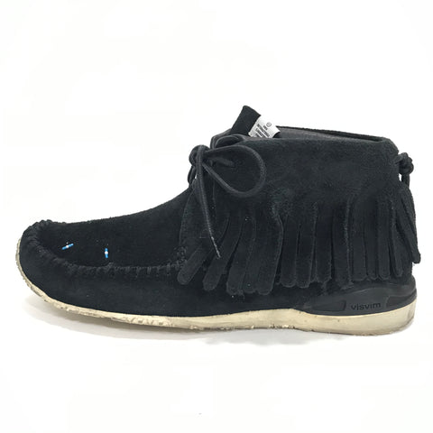 [8] Visvim FBT Bear Foot Shaman Suede Black