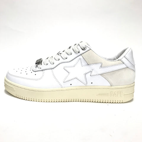 [9 or 10] DS! Bape Sta OG Leather / Suede White