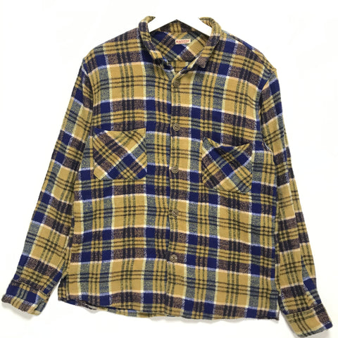 [M] Kapital Flannel L/S Shirt Yellow