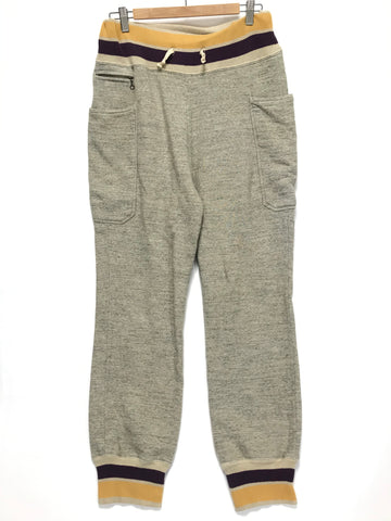 [L] Kapital Side Pocket Sweat Pants Grey