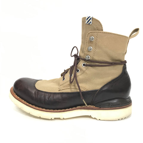 [8.5] Visvim Veritus Folk Boots Brown