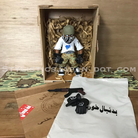 (Offers OK) WTaps x Fighting Force Friends and Family Figure Set White
