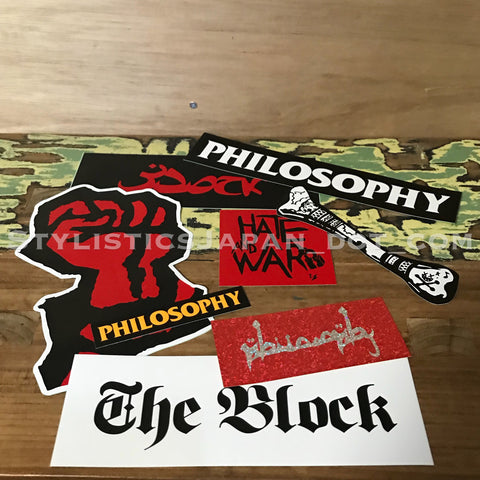 Philosophy Store Limited Sticker Set 4