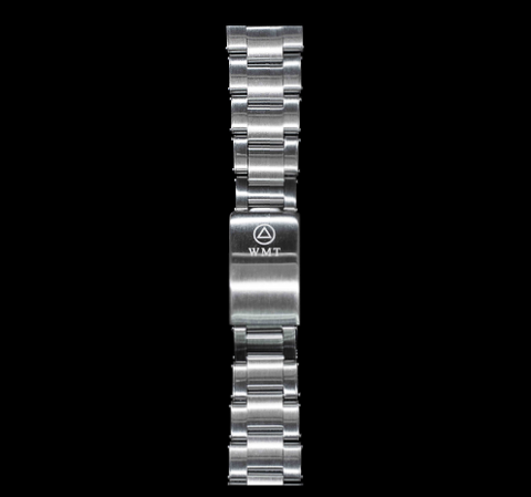 NEW! WMT Royal Marine Riveted Stainless Steel Bracelet