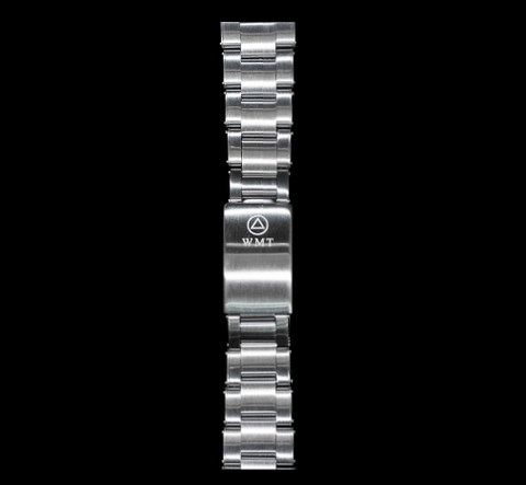 NEW! WMT Sea Diver Riveted Stainless Steel Bracelet