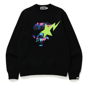 [M or L] DS! Bape Kid Cudi Moon Man Crewneck Sweatshirt