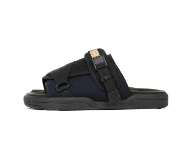 [M, L or XL] DS! Visvim Christo Sandals 2-Tone Black