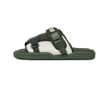 [M] DS! Visvim Christo Sandals 2-Tone Green