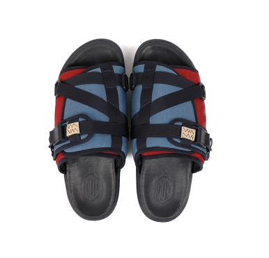 [L] DS! Visvim Christo Sandals 2-Tone Blue