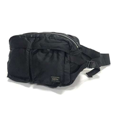 Porter Tanker Waist / Shoulder Bag Black