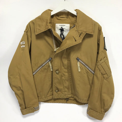 [S] A Bathing Ape Bape x WTaps Vintage Remake Army Riders Jacket