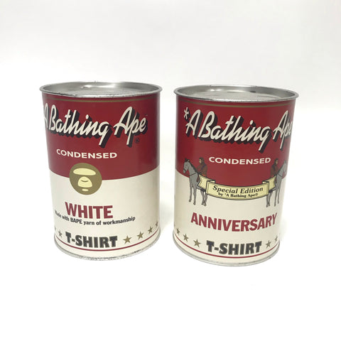 A Bathing Ape Bape 'Bapells' Soup Can